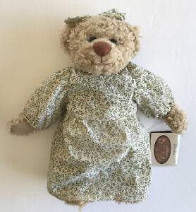 "Nanahugalot 10"" Plush Bear Stuffed Animal The Ganz Cottage by Lorraine Chien"