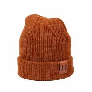 Baby Hat 9 Colors Boy Warm Winter Kids Beanie Knit Children Cap Newborn Cotton
