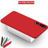 Para Huawei P20 Lite P20 Pro prueba de choques Plástico Carcasa Funda Cover Case