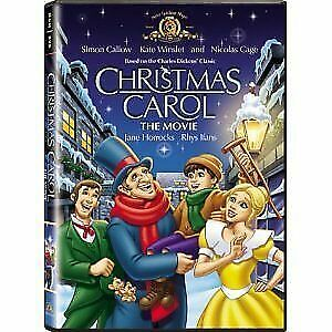 Like New FS DVD Christmas Carol - The Movie (2001) Kate Winslet Nicolas Cage