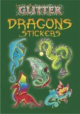 Dover Little Activity Books Stickers: Glitter Dragons Stickers by Christy...