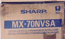 Genuine Sharp MX70NVSA CMY Color Developer for MX5500N 6200 7000 Tri-Pack + xtra