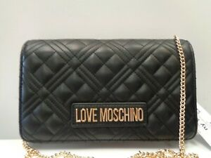 """Love Moschino Super Quilted Mini Crossbody Bag Ref BAG416"""""""
