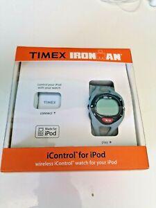 TIMEX IRONMAN running Watch icontrol wireless ipod T5K050 NEW SEALED