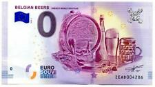 Billet touristique - 0 Euro - Belgian Beers - Unesco World Heritage (2018-1)