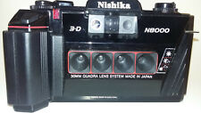 Nishika N8000 3-d Point -and-Shoot 35mm Camera Make 3d Images and Gifs