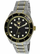 Seiko Men's SRPB94K Silver Stainless-Steel Automatic Self Wind Diving Watch