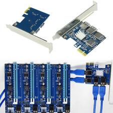 PCI-E USB 3.0 Scheda moltiplicatore di porte PCIe Express PCIe da 1 a 4 PCI-E
