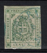 M56 - MODENA 1859 - governo provvisorio - stemma di Savoia - n.12 - 5 c.