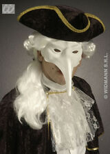 Halloween White Plague Doctor Style Mask