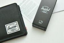 Herschel Supply Co. Original Roy RFID Bifold Black Wallet