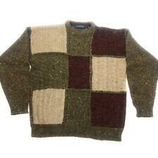 VTG Claybrooke Outdoors Textured Long Sleeve Pullover Sweater Sz Xl Acrylic/wool