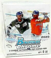 2020 Bowman Chrome MLB Baseball Hobby Box Break Random Team
