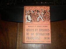 CONTES ET LÉGENDES DE LA RÉVOLUTION FRANÇAISE/HUISMAN/NATHAN 1948 EO DT
