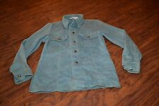 A13- Vintage JC Penney MATCH FACTORY Long Sleeve Snap Down Shirt