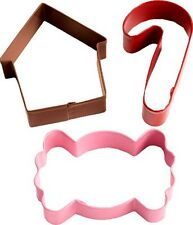 Wilton Christmas Candy 3 Piece Cookie Cutter Set