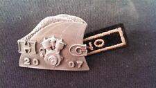 Harley Owners Group HOG LAPEL PIN Road Glide Wideglide Touring 2007 PATCH H.O.G.