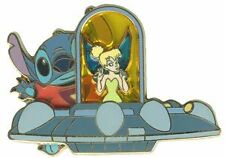 Disney Tink's Traveling Tinker Bell Tomorrowland Stitch Pin