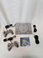 Original Sony Playstation PS1 Console - Model SCPH-7001 Bundle / Tested