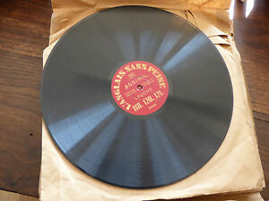ENGLISH Sans Peine XVI - Speed 78 RPM - Disk Assimil 6.563/64