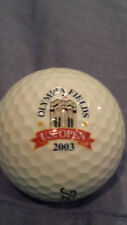 2003 Us Open Logo Golf Ball Olympia Fields