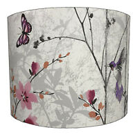 Muriva Eden Wallpaper Table Lampshades Or Ceiling Light Shades, Lighting.