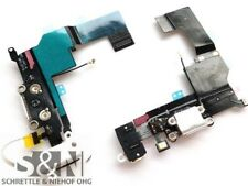 Original iPhone 5S Docking Konnektor Lightning Mikrofon Anschluss Flex weiß