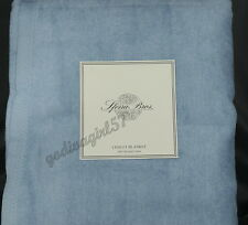 Sferra Bros. Chalet * KING BLANKET * Brushed Cotton, Blue, NEW!