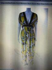 Gorgeous Emilio Pucci maxi dress, cotton, sleeveless,10