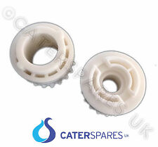 More details for pizza group white plastic pinnion front & rear cogs dough roller stretcher parts