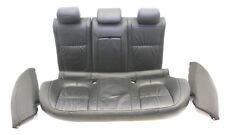 Jaguar XF X250 3.0d Sitz Ledersitz LHD Rücksitzbank Sitze Hinten leder schwarz