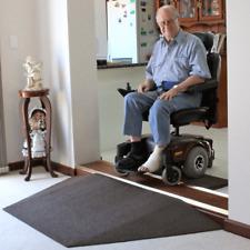 Heeve Recycled Rubber Wheelchair Threshold Door Ramp 1:8 Gradient