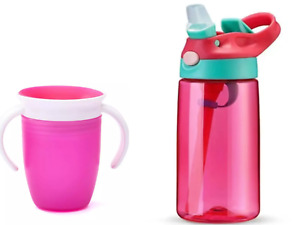 2pack Bundle Deal Baby Bottle Straw & Munchkin Miracle Trainer Cup US Quality