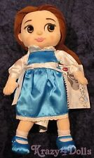 Disney Animators' Princess Belle Toddler Plush Doll New with Tags!