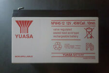 Yuasa High Performance Akku NPW45-12 12V /8,5 Ah Bleiakku mit hoher Lebensdauer
