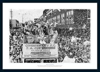Coventry City 1987 FA Cup Final Open Top Bus Team Photo Memorabilia (165)
