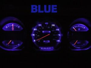 Gauge Cluster LED Dashboard Bulb Blue For Dodge 81 89 Ram D100 - D350 Truck