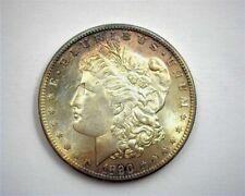 1890-S MORGAN SILVER DOLLAR GEM UNCIRCULATED NICE TONING! BETTER DATE!!