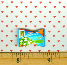 DOLLHOUSE Miniatures SIZE Frozen Vegetables Cauliflower, Broccoli Bag