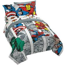 "Marvel Avengers ""Comic Cool"" Kids Bed-in-a-Bag Bedding Set w/ Reversible Comfort"