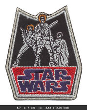 Star Wars Patch Embroidered Sew Iron on Movie Film Science Fiction Hollywood