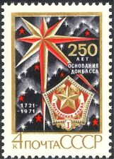 Russia 1971 Coal Mining/Miners/Minerals/Medal/Star/Animation/History 1v (n44243)