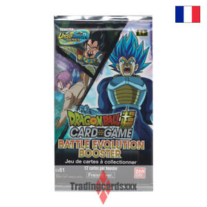 Dragon Ball Super Card Game - Booster EV01 : Battle Evolution Booster