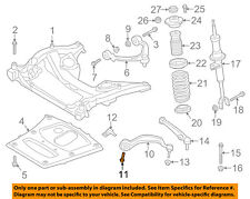 BMW OEM 550i GT xDrive Front Suspension-Front Lower Cntl Arm Bolt 33316767586