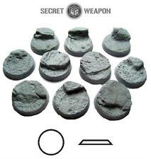 Desert Mesa 01 BDM2501 Beveled Bases 25mm Secret Weapon Miniatures Gaming