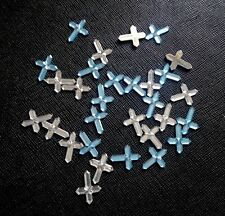 Acrylic Faceted Rhinestone Cross Christmas Christening Table Confetti Sprinkles