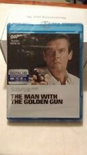 James Bond THE MAN WITH THE GOLDEN GUN OOP Blu-ray sealed new. RARE