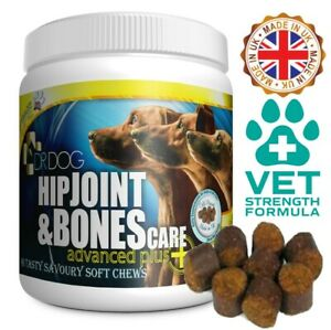 DR DOG Hip Joint Supplement 90 CHEWS: mobility care aid support for dogs tablets