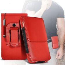 Étuis, housses et coques avec clip rouge Samsung Galaxy S8 pour téléphone mobile et assistant personnel (PDA)