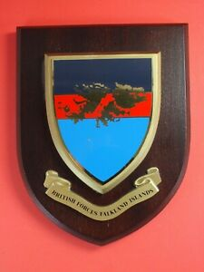 British Forces Falkland Islands - Military Wall Plaque Crest Shield